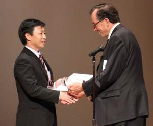 第72回日本癌学会学術総会(10月3日~5日開催、横浜市)授賞式より